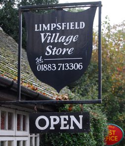 Memorial Stores and Post Office is a community run service headed up by the lovely postmaster, Kerry Daniels and a swarm of eager volunteers. Providing everything you need on a daily basis, great cakes and treats, local produce, post office services and much more. 01883 713306. http://limpsfieldstores.co.uk
