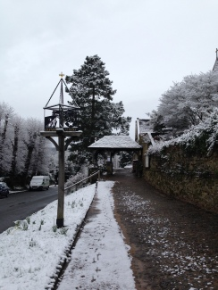 St Peters in the snow