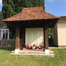 War memorial at The Legion