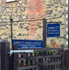 Ebbutt Funeral Services. Party of the Dignity Funeral Homes group, Ebbutt has been in Limpsfield for years and is a much loved and trusted service. http://www.dignityfunerals.co.uk01883 713767
