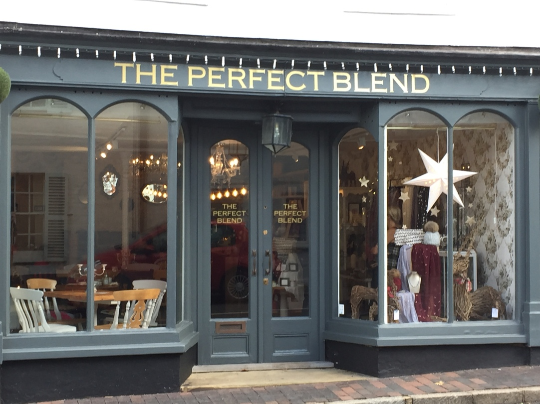 The Perfect Blend - the best cafe in Surrey! Serving coffee, tea, drinks and yummy cakes Tues - Sundays. Book for high teas and other events. Call 01883 712626
