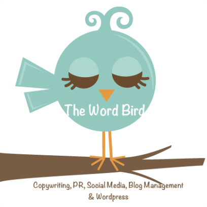 The Word Bird - Copywriting, PR, Social Media, Blog management & Wordpress. sophie@thewordbird.me