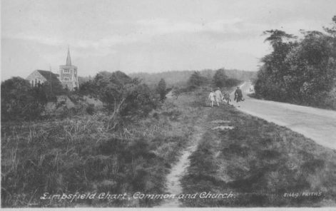 Kent Hatch Road, Limpsfield Chart
