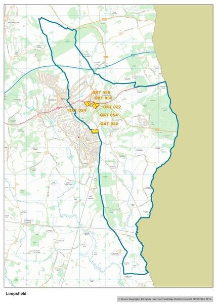 Local Plan Sites in Limpsfield Parish