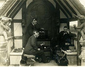 BBC radio production team