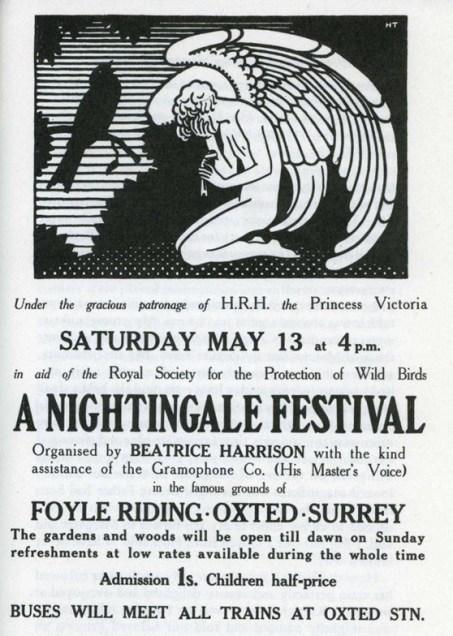 Original Nightingale Festival poster