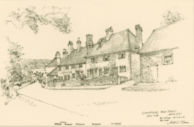 Limpsfield High Street by Arthur Keen