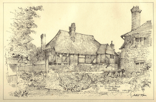The Old Court House by Arthur Keen