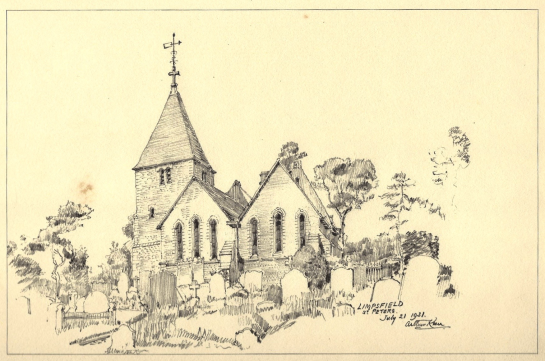 St Peter's Church by Arthur Keen