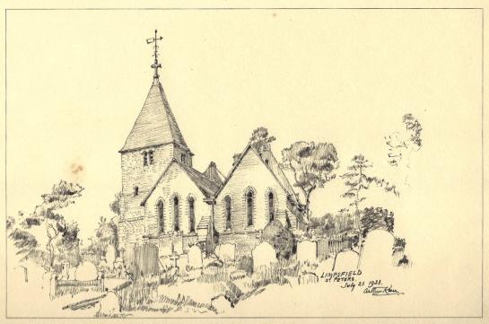 St Peter's Church by Arthur Keen