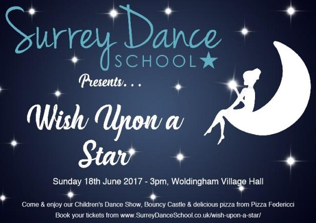 Surrey Dance Wish Flyer