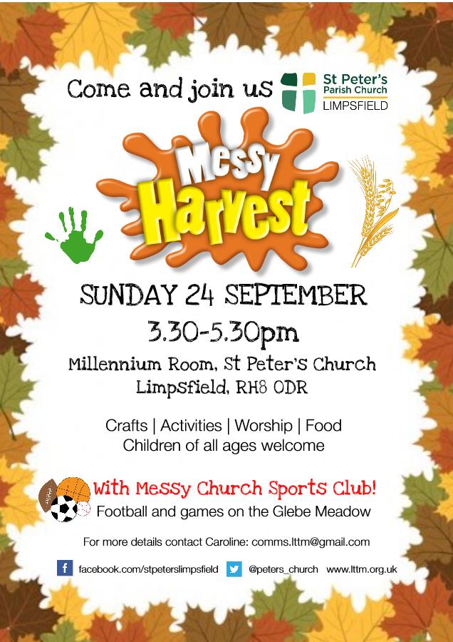 Harvest Messy Church
