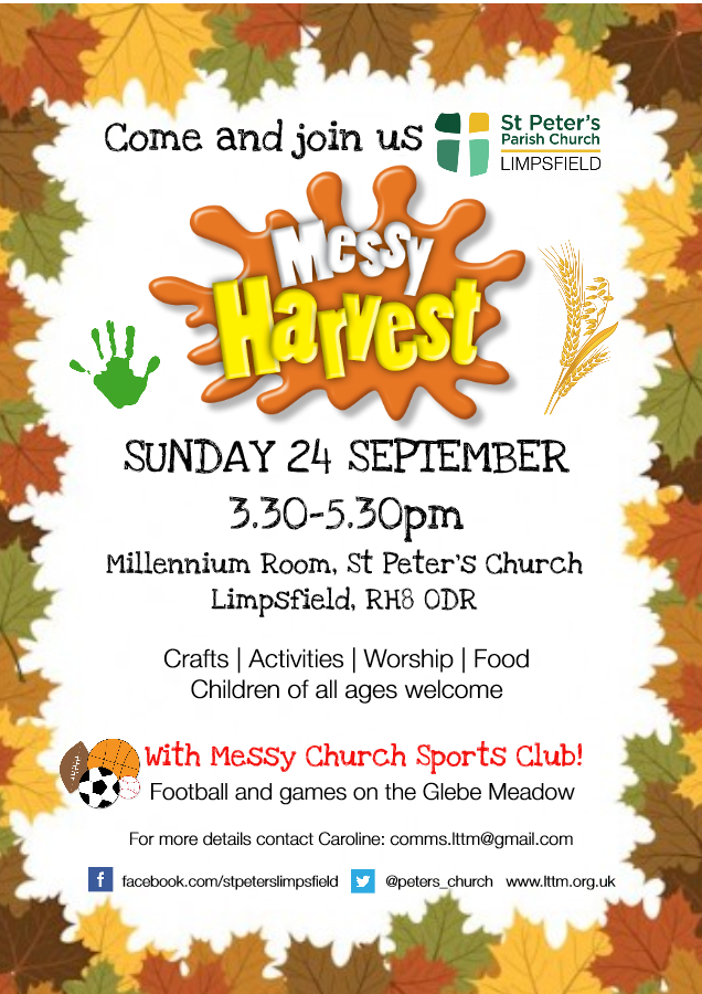 Harvest Messy Church