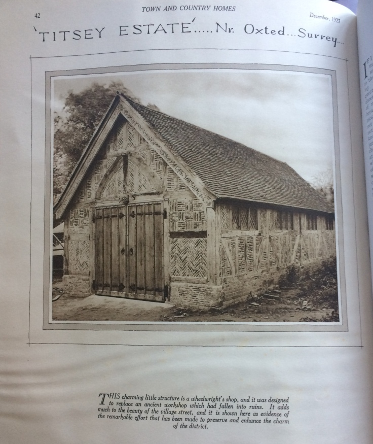 The studio - 1927 T&C magazine