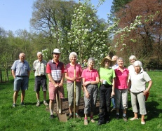 Community Orchard team