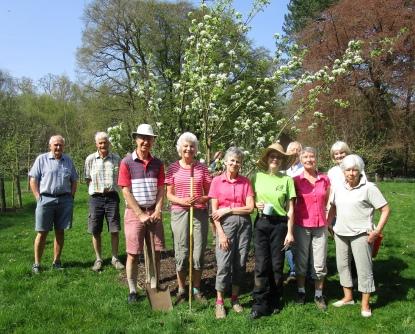 Community Orchard team