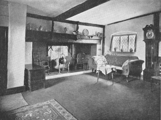 Tenchleys hall formerly kitchen