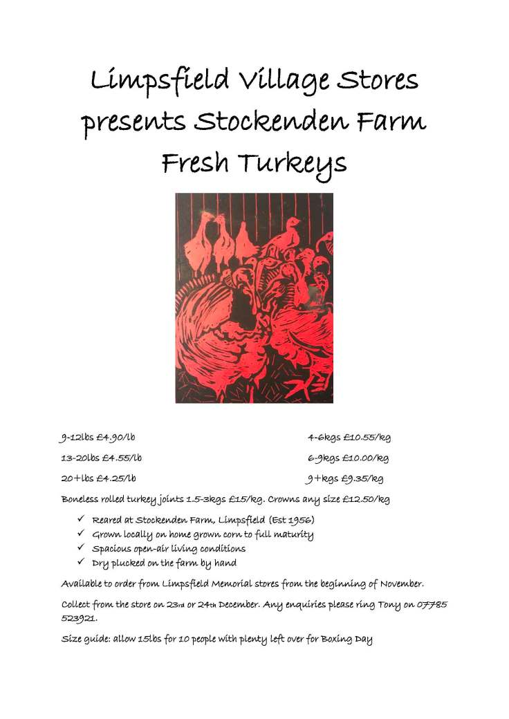 Stockenden Farm Fresh Turkeys flyer v2