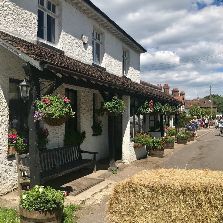 The Carpenters Arms, Tally Road, Limpsfield Chart